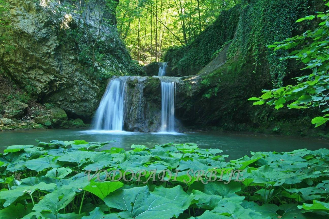 .: Vodopadi Srbije - Vodopad Kanjon Brnjice